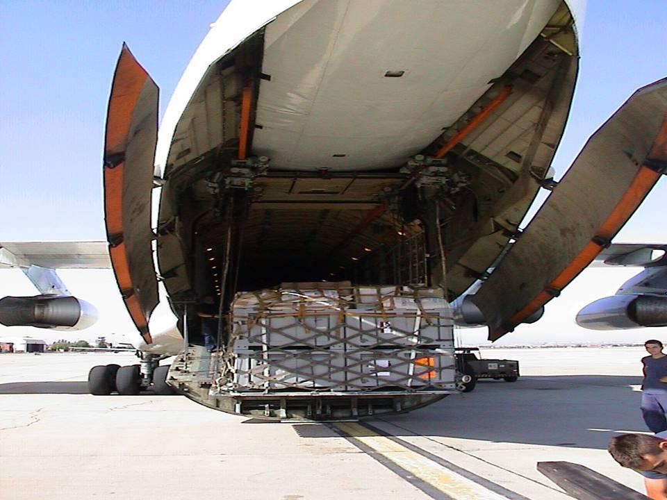 Transporte especial aéreo