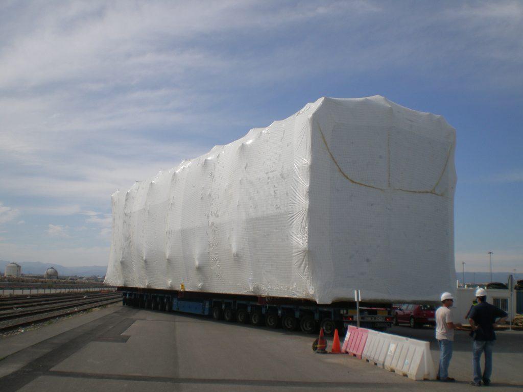Transporte especial por tierra