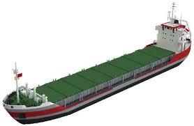 Barco de transporte fluvial